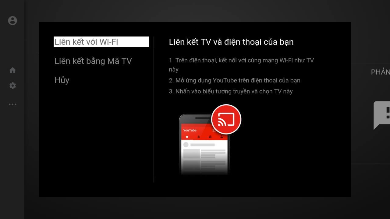 Phần mềm Youtube bản mới nhất cho Android TV box wifi Kiwibox hỗ trợ