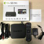 Bộ sản phẩm Kiwibox S3 Pro